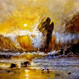 LOST IN A SUNSET... by Cristina Mihailescu