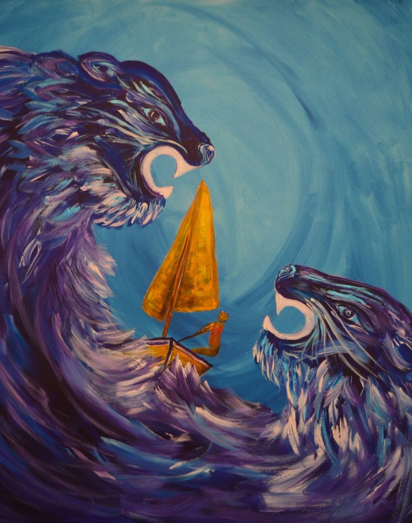 Sailing The Wild Waves - Image 0