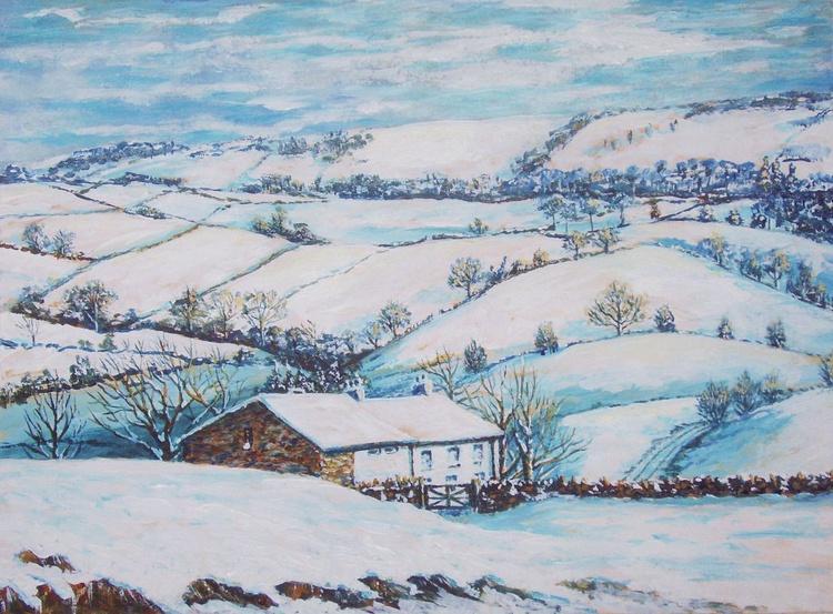 Hill Farm in Winter - Image 0