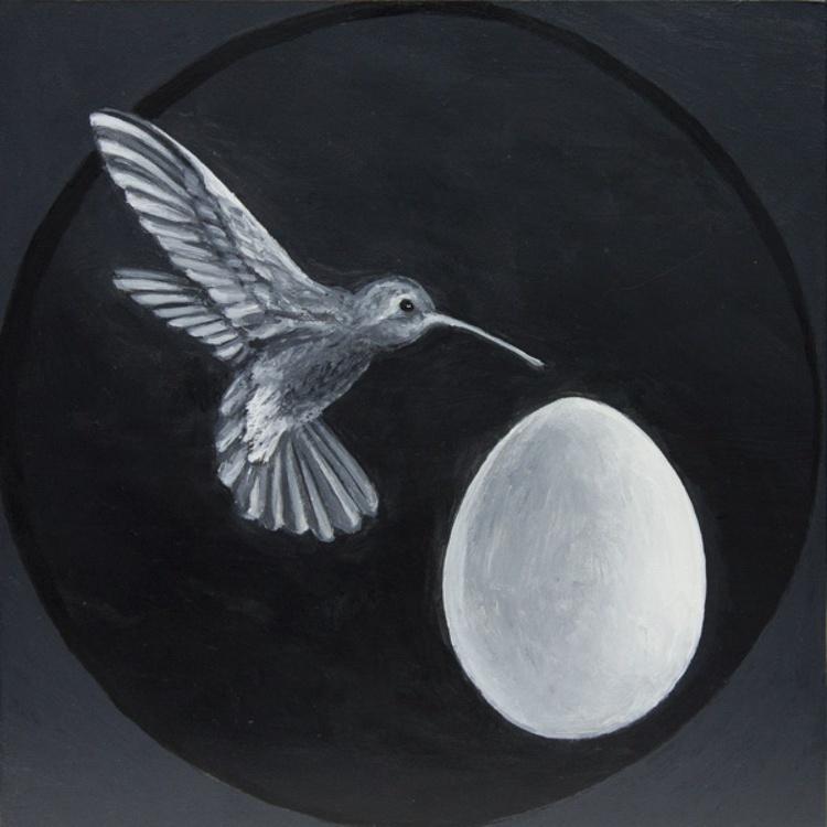 Hummingbird with Egg - Image 0