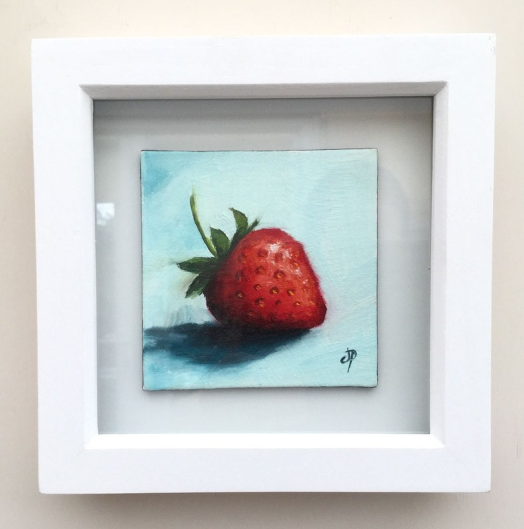Strawberry (framed) - Image 0