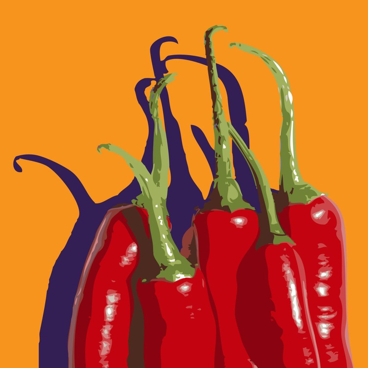 5 CHILIES#2 - Image 0