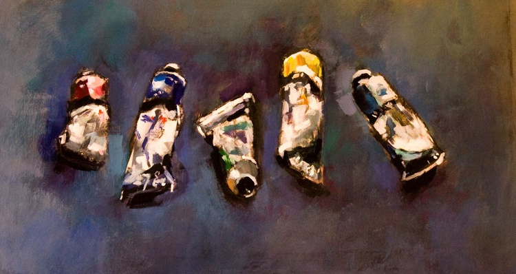 Tubes of Paint - Image 0