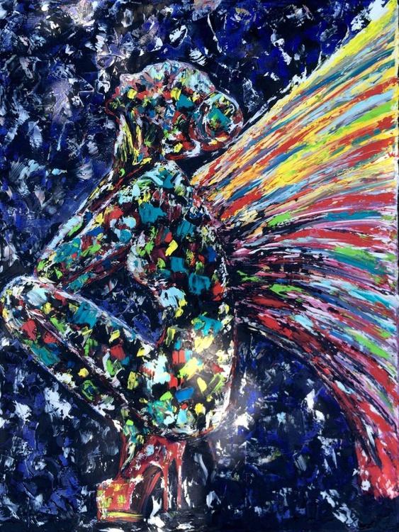 Sad angel - Image 0