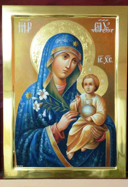 VIRGIN MARY AND BABY JESUS -