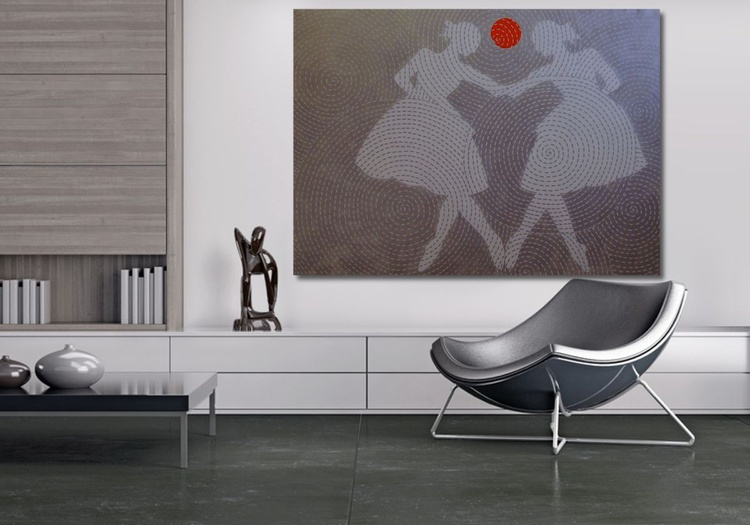 The Mirror Dance. Large. Free Shipping - Image 0