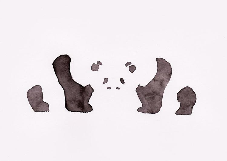 Two Pandas - Image 0