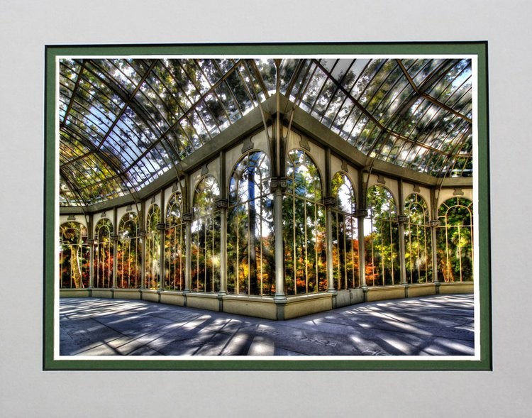 Inside Crystal Palace, Palacio Cristal, Madrid | Artfinder