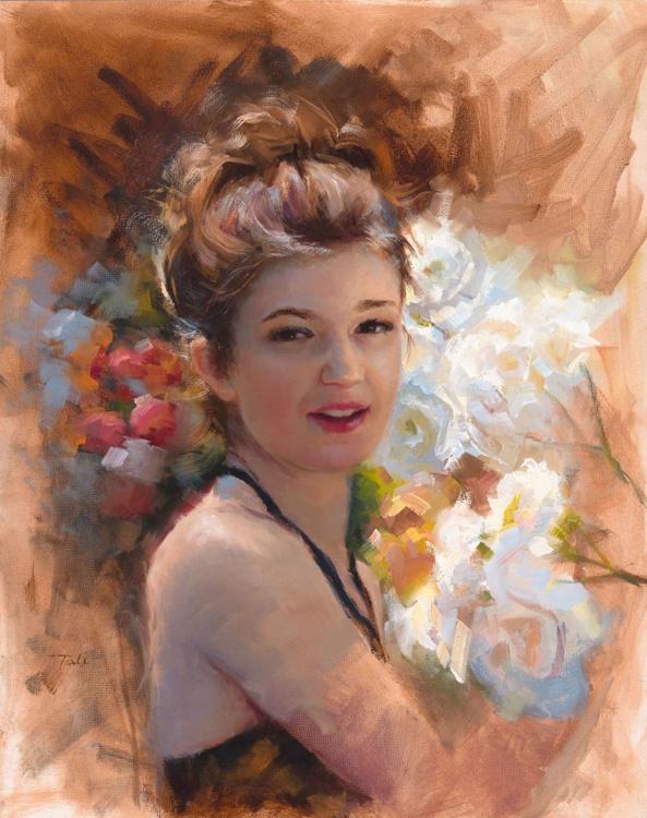 Katelynn in the Rose Garden - Image 0