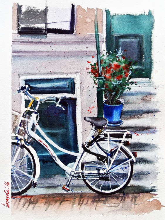 A White Bicycle - Image 0
