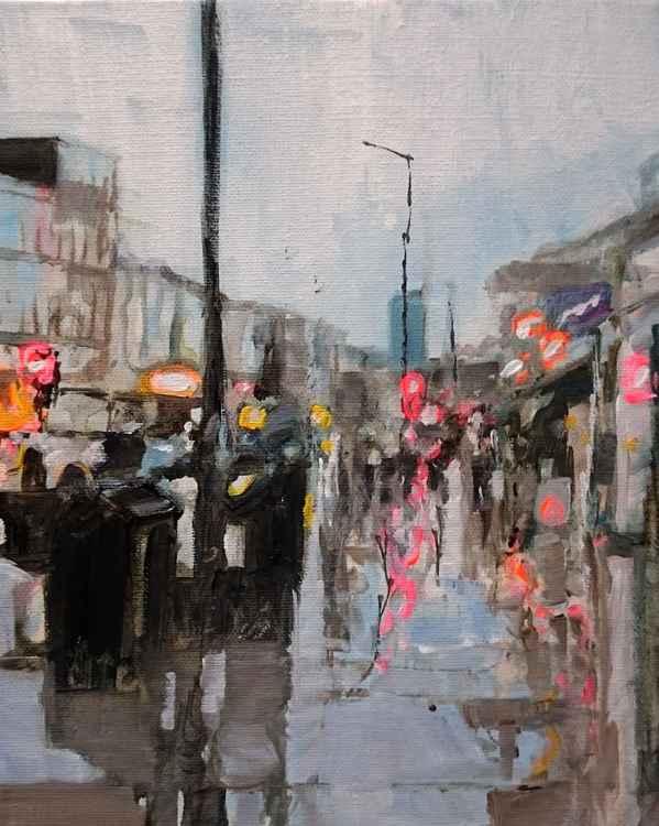 Urban Street Rain No.1