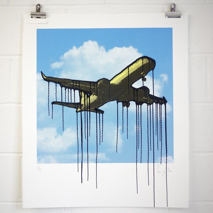 Dripping plane - Image 0