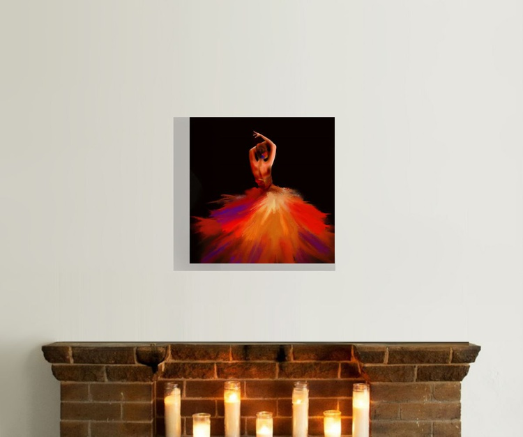 Firedance, Flamenco dancer - Image 0