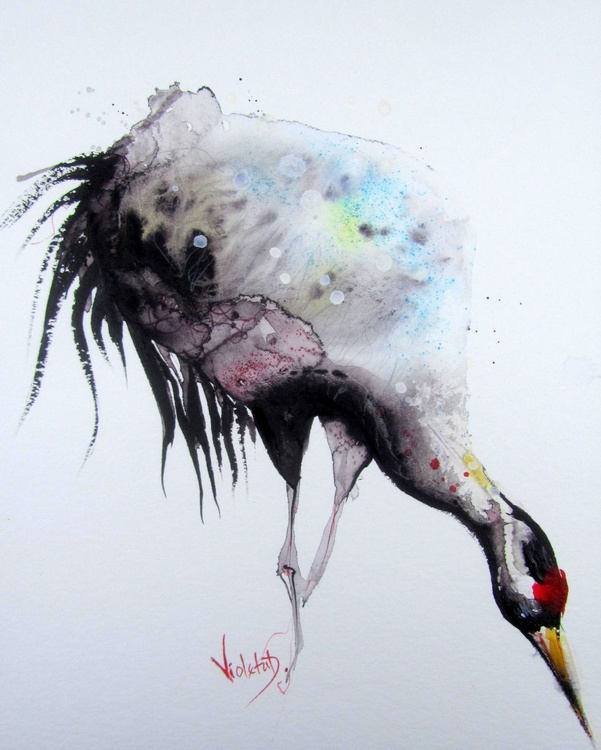 Red Crowned Crane - Image 0