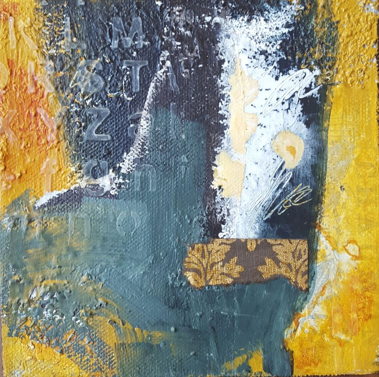 Offering 2, small abstract, gift - Image 0