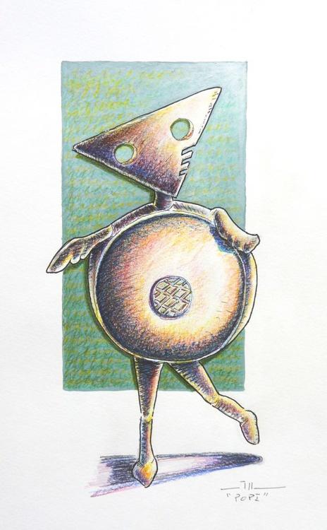 """Popi, """"sketch of sculpture"""" - Image 0"""