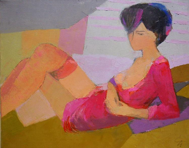 pink dress - Image 0