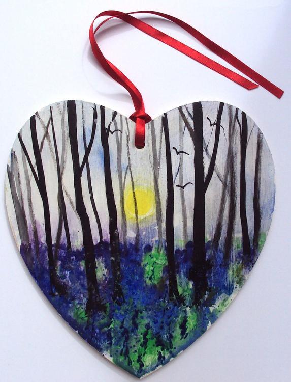 Bluebells heart - Image 0