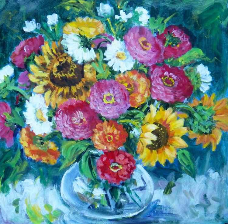 Floral Explosion I -