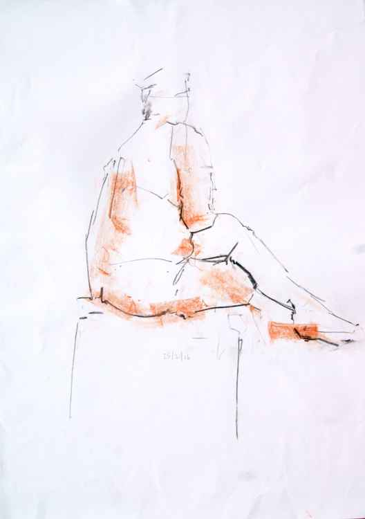 Life Drawing No 44 -