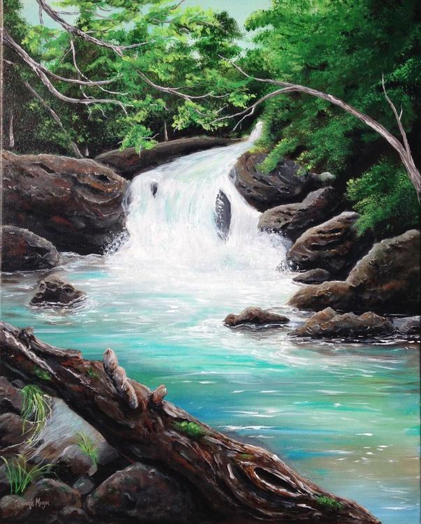 Mountain Waterfall - Image 0