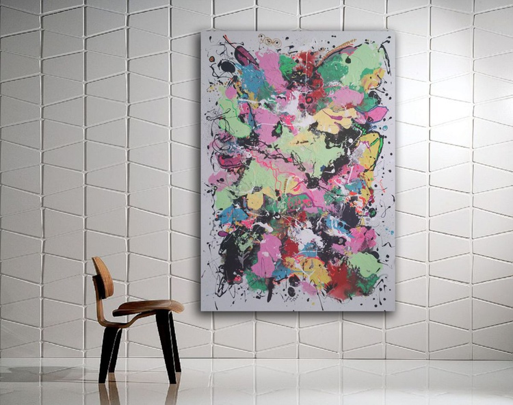 """45''x31""""( 115x80cm), Just Perfect,  by Veronica Vilsan - Image 0"""
