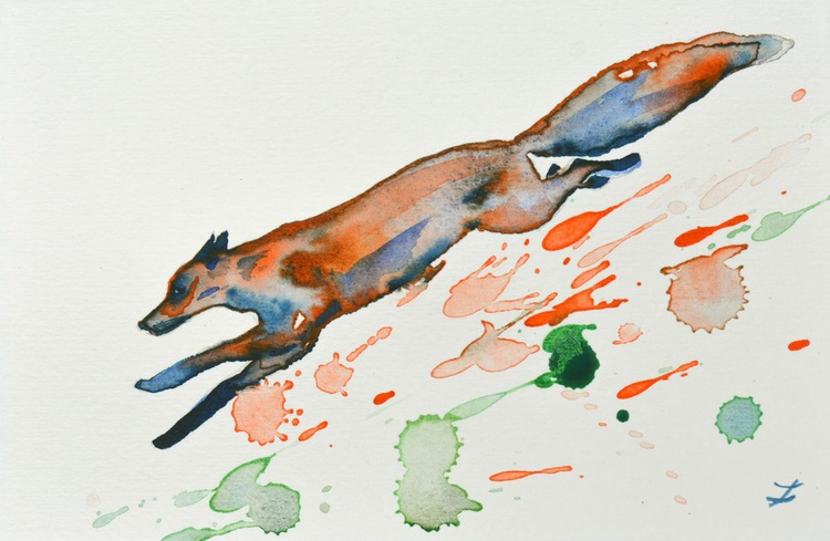 Running Fox - Image 0