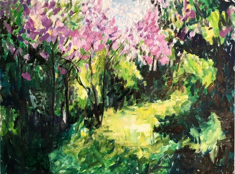 Lilacs in the Spring - Image 0