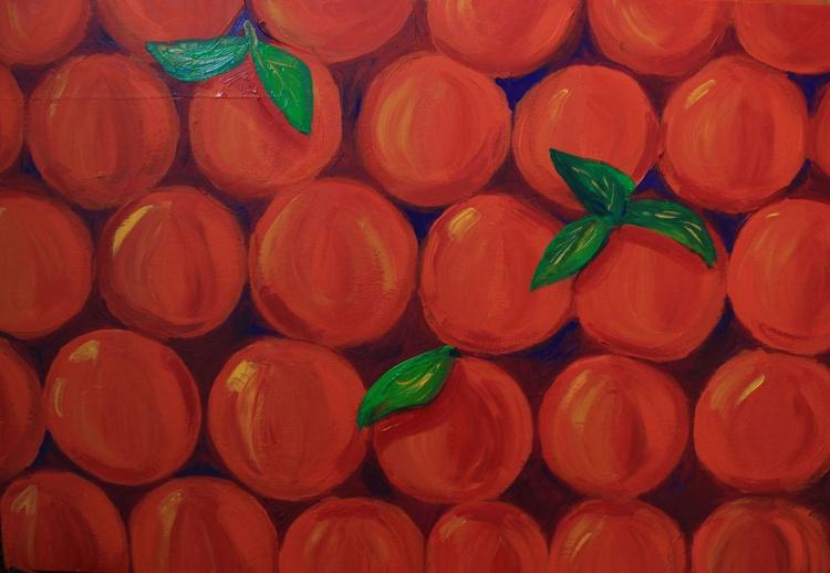 Oranges in the box - Image 0