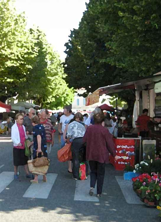 Ribérac Market