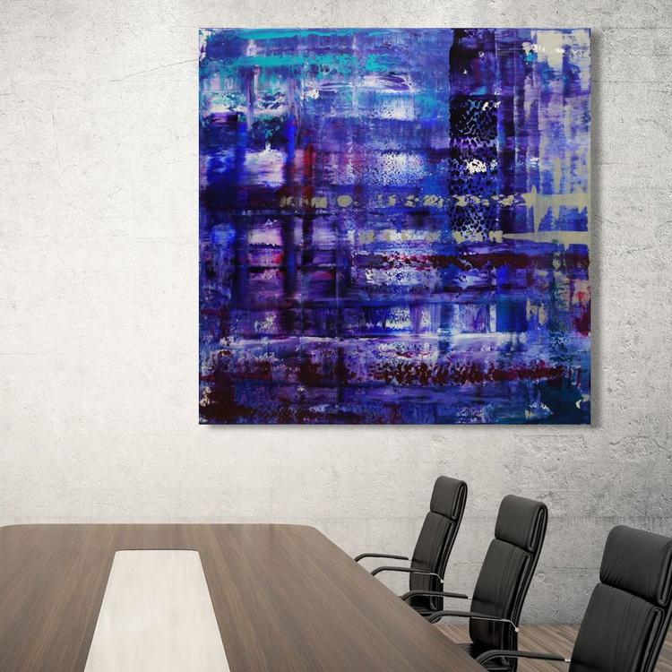 Silver Linings (100 x 100 cm) - Image 0