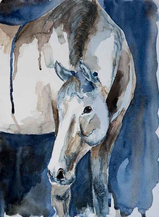 """Sienna"", original watercolour painting, 11.2""x15.2""(28x38cm)"