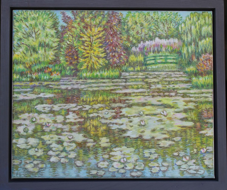 The Waterlily Pond Giverny - Image 0