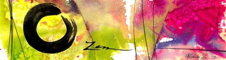 Enso Zen Circle No. 6 - Image 0