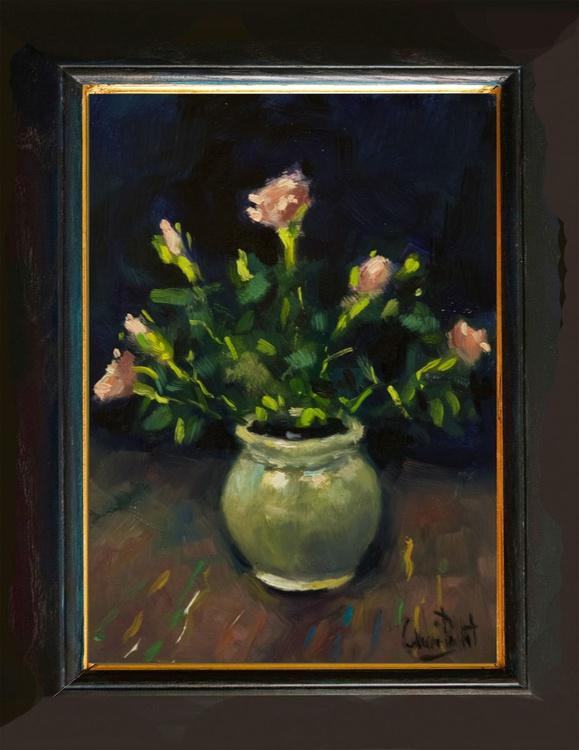 Roses in Pot - Image 0