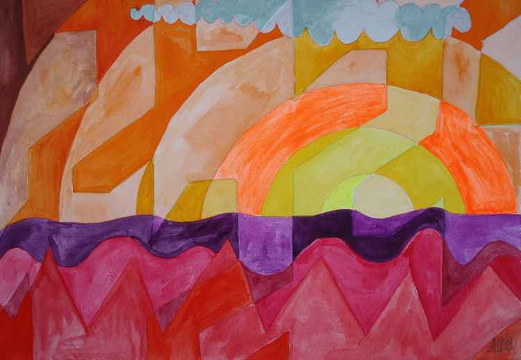 Abstract Landscape -