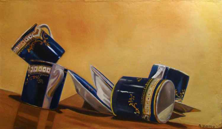 Seasickness, Titanic's cups -