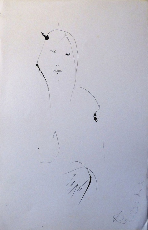 Imagined Woman, 32x50 cm - Image 0