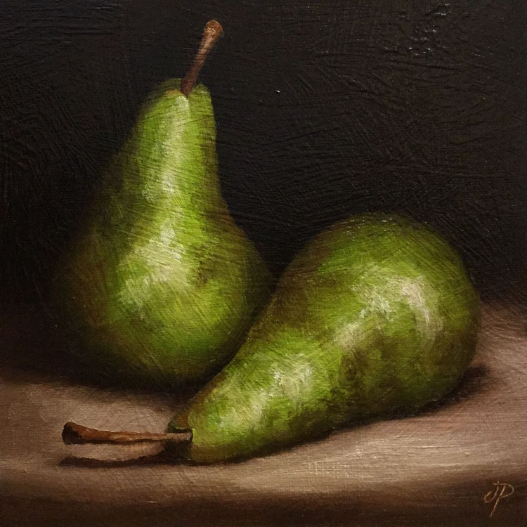 Pair of Pears No 2 - Image 0