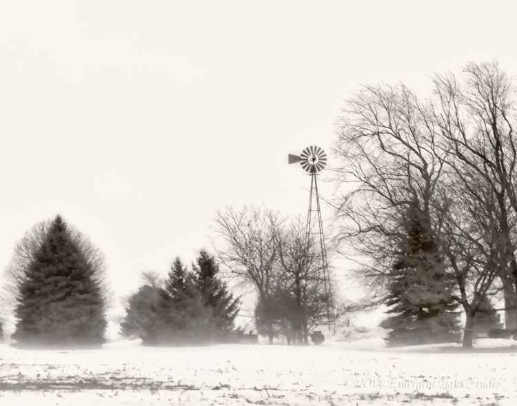 Winter Scene from Rural America -
