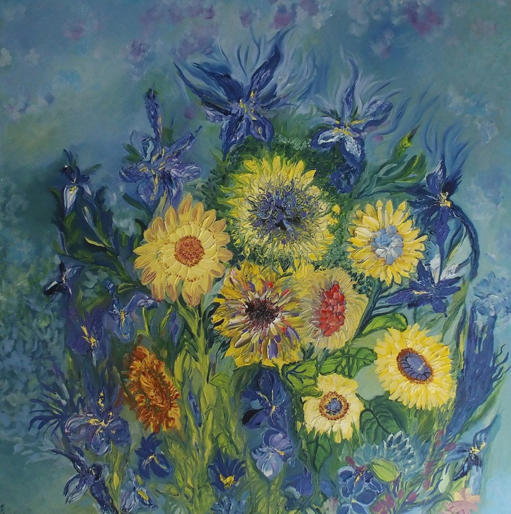 Sunflowers in Bloom - Image 0