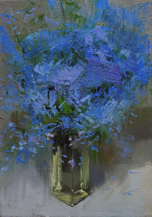"""Still Life Painting,  """" Midnight """" (119sl15) - Image 0"""