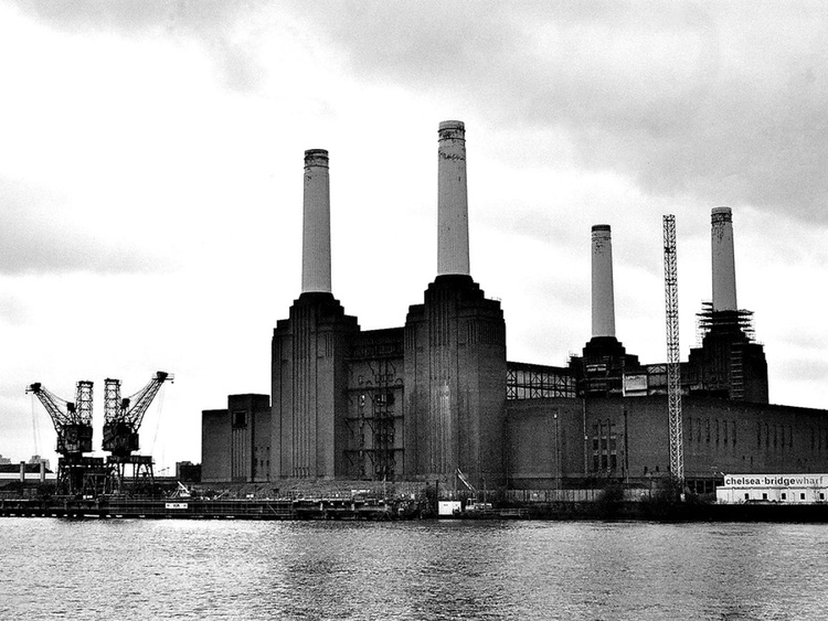 BATTERSEA POWER STATION B&W: London(Limited edition  4/50) A3 - Image 0