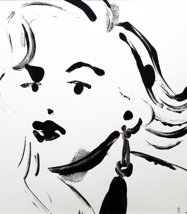"""I'M THRU WITH LOVE! (AGAIN!)"" / Marilyn Monroe - Image 0"