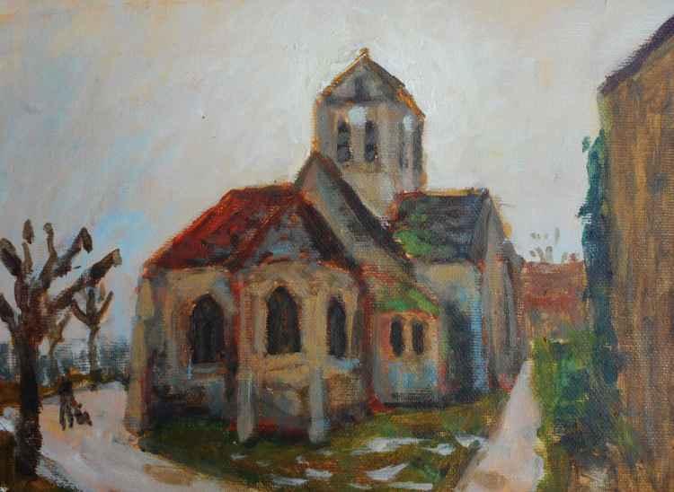 Church of Van Gogh (Auvers sur oise) -