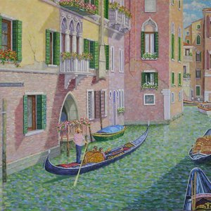 Maneuvering the Venetian Canals by William R. Beebe