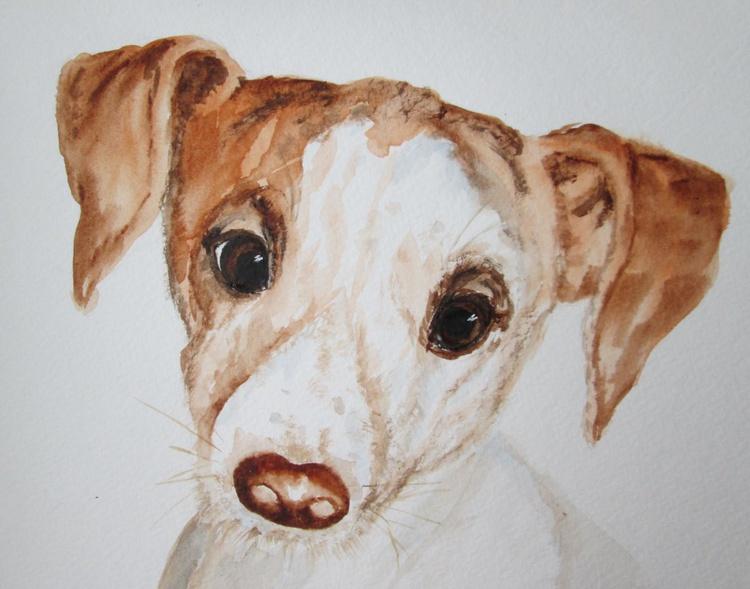 """""""MY BOY"""", watercolour - Image 0"""