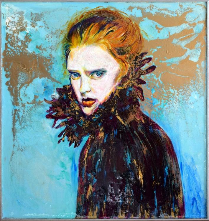 Her look / 62 cm x 59 cm - Image 0
