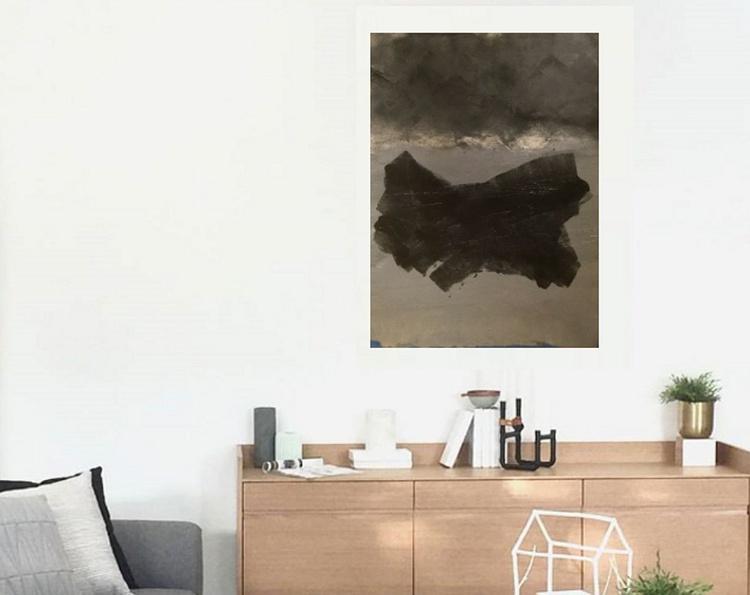 Knot   Original Painting   101.6 x 76.2   2015 - Image 0