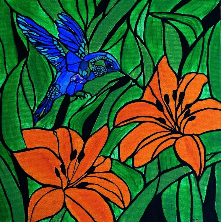 Joy in a hummingbird - Image 0